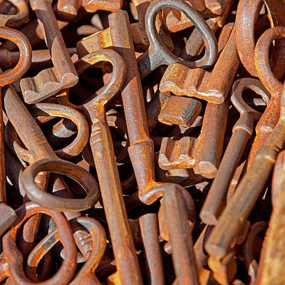 Rusty Keys Print by Art Block Collections