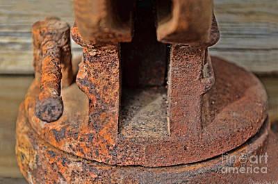 Rusty Vise IIi Print by Debbie Portwood