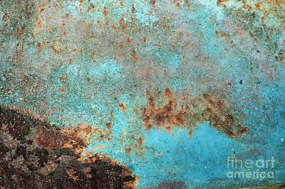Rusty Weather Print by Deborah Montana