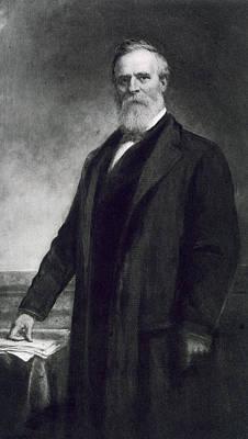 Black History Painting - Rutherford B Hayes by Daniel Huntington
