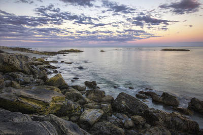 Rye Cliffs Print by Eric Gendron