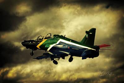 Hawk Mk 120 Photograph - Sa Hawk by Paul Job
