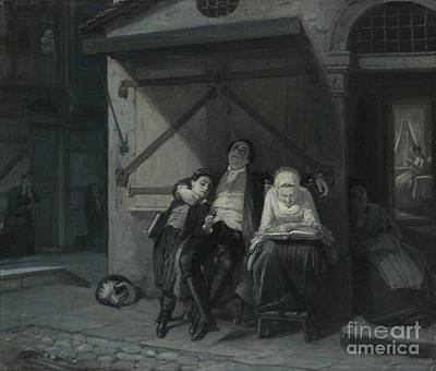 Jewish Painting - Sabbath Rest  by Celestial Images