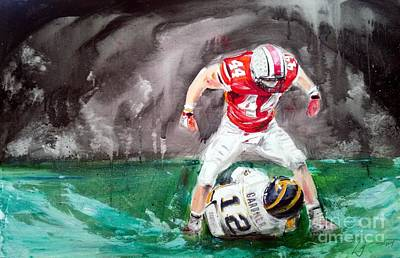 College Football Painting - Sacked by William III
