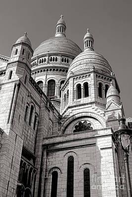 Sacre Coeur Architecture  Print by Olivier Le Queinec