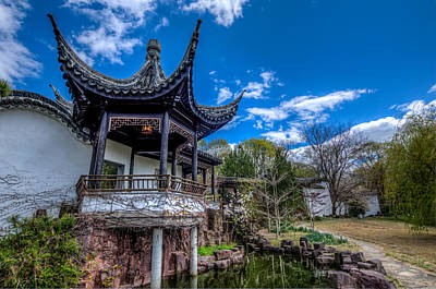 Staten Photograph - Sacred Garden by Johnny Lam