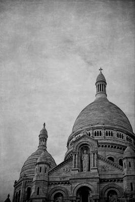 Sacre Coeur Photograph - Sacred Heart Basilica Of Montmartre  by Maria Angelica Maira