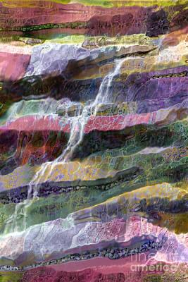 Wall Mounting Digital Art - Sacred Spring by Ursula Freer