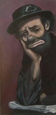 Sad Emmett Sr Original by Christina Clare