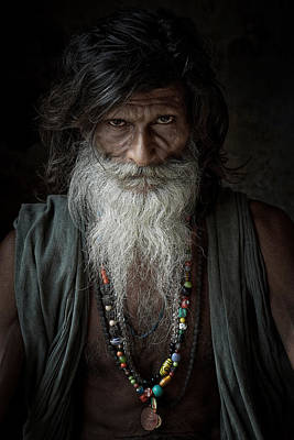 Accomplice Photograph - Sadhu IIi by Gilles Lougassi