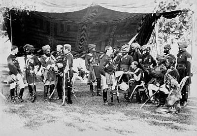 Khan Photograph - Sadiq Muhammad Khan by British Library
