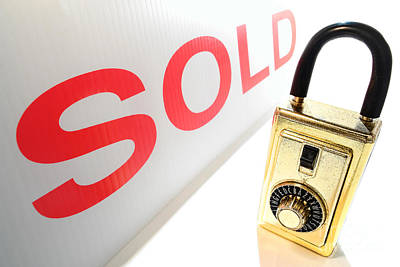 Realtor Photograph - Safe And Sold by Olivier Le Queinec
