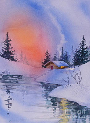 Comfort Painting - Safe And Warm by Teresa Ascone