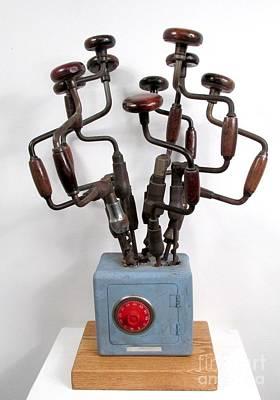 Czappa Sculpture - Safe Bouquet by Bill Czappa