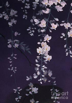 Orchids Digital Art - Sagi No Mai Crop II by Haruyo Morita