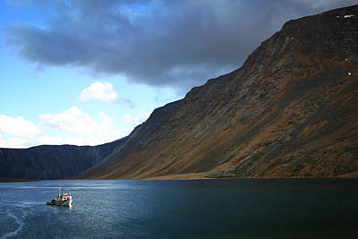 Canada Photograph - Saglek North Arm by Ben Shields