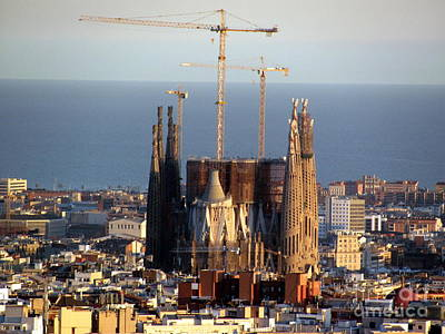 Iglesia Photograph - Sagrada Familia 2013 by Greg Mason Burns