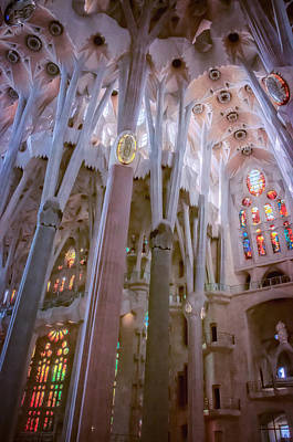 Sagrada Familia Original by Joan Carroll