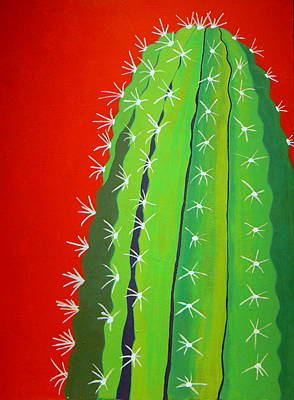 Saguaro Cactus Print by Karyn Robinson