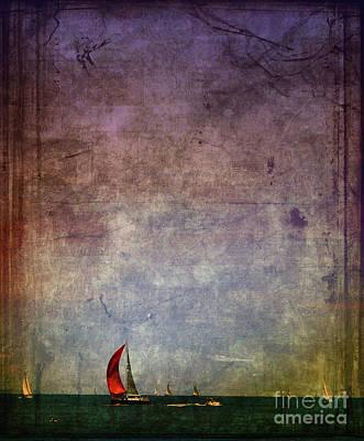 Sail Away Print by Elora Daphne