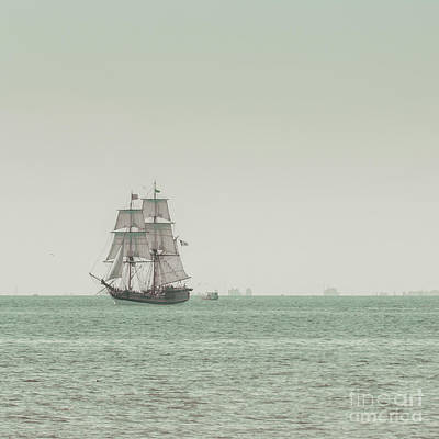 Sail Ship 1 Print by Lucid Mood