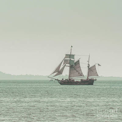 Sail Ship 2 Print by Lucid Mood