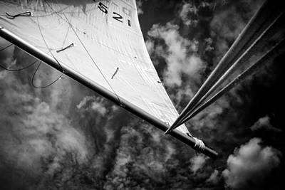 Sail Print by Stelios Kleanthous
