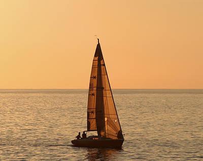 Kim Photograph - Sailboat In Hawaii by Kim Hojnacki