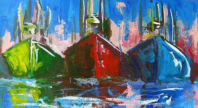 Sailboat Print by Patricia Awapara