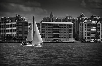 Photograph - Sailing Away  by Mario Celzner