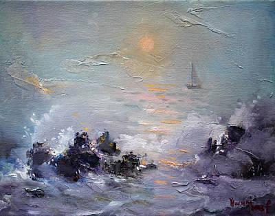 Sailing Back Home Original by Ylli Haruni