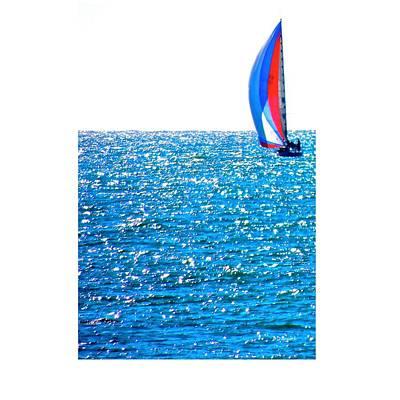 Sailing Print by Brian D Meredith