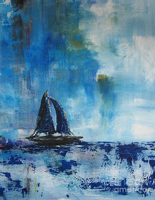 Decor Painting - Sailors Delight By Shawna Erback by Shawna Erback
