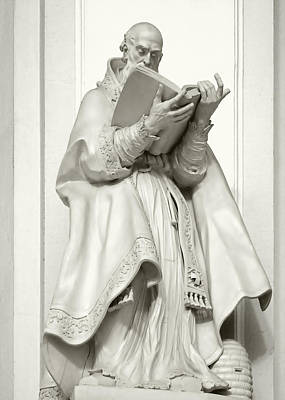 Book Photograph - Saint Ambrose - Holy Trinity Cathedral Dresden by Christine Till