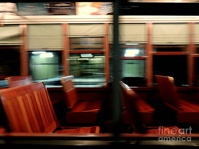 Saint Charles Avenue Street Car In New Orleans Louisiana #6 Print by Michael Hoard