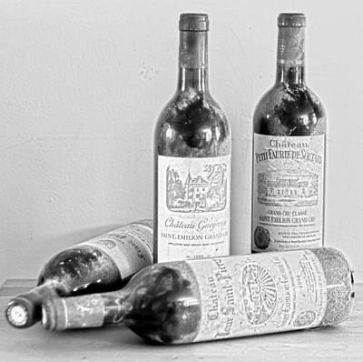 Wine Cellar Photograph - Saint Emilion  by Georgia Fowler