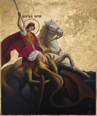 Georgio Painting - Saint George by Aleksandar Tesanovic