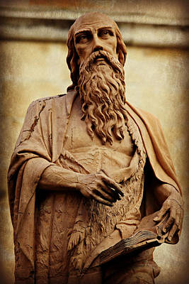 Iconography Photograph - Saint Jerome by Stephen Stookey