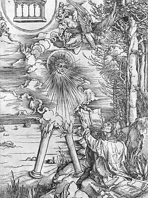 Durer Painting - Saint John by Albrecht Durer or Duerer