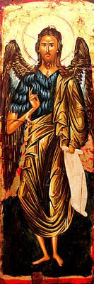 Egg Tempera Painting - Saint John by Artur Sula