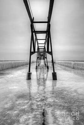 Saint Joseph Michigan Pier Print by Twenty Two North Photography