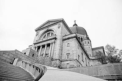 Montreal Landmarks Photograph - Saint Joseph's Oratory by Valentino Visentini