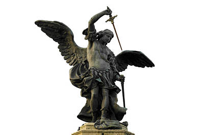 Saint Michael Photograph - Saint Michael by Fabrizio Troiani