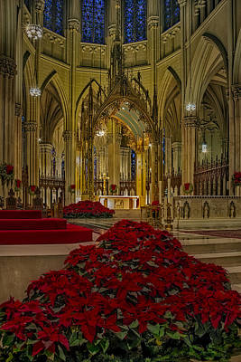 Christ Photograph - Saint Patricks Cathedral by Susan Candelario