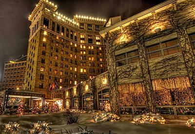 Photograph - Saint Paul Hotel by Amanda Stadther