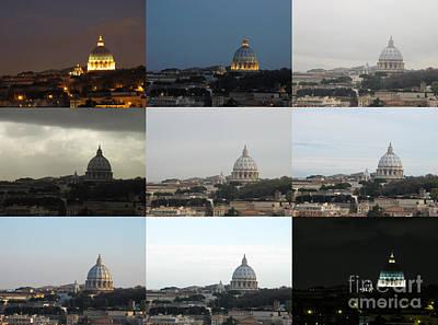 Rome Photograph - Saint Peter by Franz Gustincich
