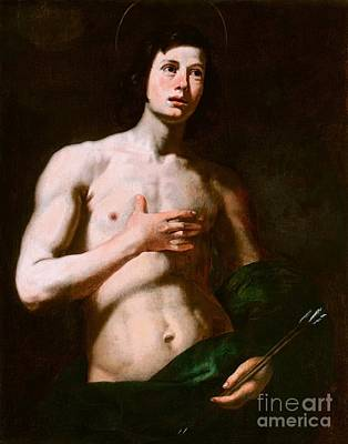 Nativity Painting - Saint Sebastian by Celestial Images