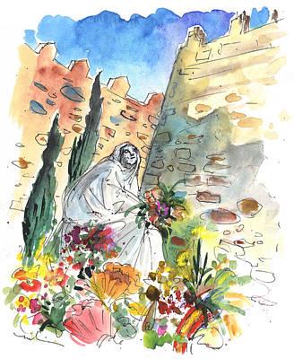 Saint Teresa Of Avila Print by Miki De Goodaboom