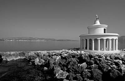 Greece Photograph - Saint Theodori Lighthouse by George Atsametakis