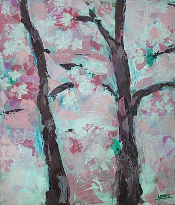 Sakura Painting - Sakura by Lovet Harris